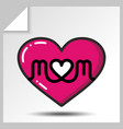 mothers day icons 6 vector image