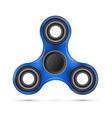 spinner blue design vector image vector image