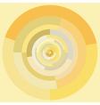 Pastel circles vector image