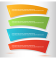 infographics form steps workflow options vector image
