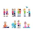 Active Leisure Composition vector image