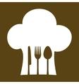 restaurant emblem image vector image