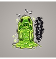 Cartoon Nausea Monster vector image