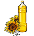 cooking oil vector image