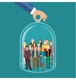 Customer care vector image