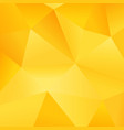 modern gradient yellow polygon background picture vector image