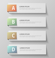 paper infographic421 vector image