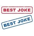 Best Joke Rubber Stamps vector image vector image