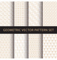 geometric pattern pack vector image