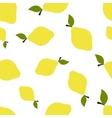 Pattern Silhouette Lemons vector image