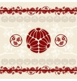 asian designs background vector image