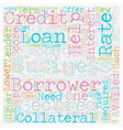 Business Loan An Effective Tool for Growth text vector image