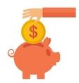 Money savings vector image