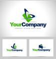 business logos vector image