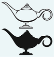 Lamp Aladdin vector image