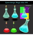 Magic elixir in different vector image