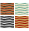 chevron patterns tile multicolored design element vector image