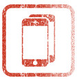 smartphones framed textured icon vector image