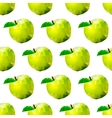 abstract seamless background with apples vector image