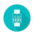 Flat icon for smart watch vector image