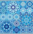seamless tile pattern colorful lisbon vector image