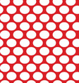 White dots seamless vector image