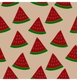 watermelon slice seamless pattern Repeated vector image