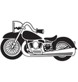Motorcycle vector image vector image