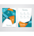 Geometric design business banners vector image vector image