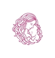 Breastfeeding sign vector image