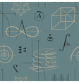 Functions seamless vector image
