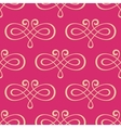 Seamless curly swirl antique motif vector image vector image