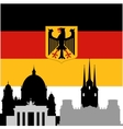 German architecture vector image