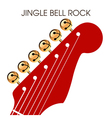 jingle bell Rock vector image