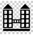 company building icon vector image