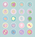 Cartoon Stickers llustration vector image