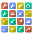 Tools Icons With Shadows vector image vector image