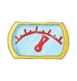 Speedometr icon cartoon style vector image