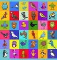 decorative paper cartoon design vector image vector image