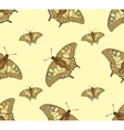 Abstract Seamless Background of Butterflies vector image vector image