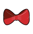 Bow tie fashion vector image