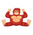 Monkey King vector image