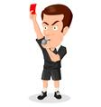 Referee vector image