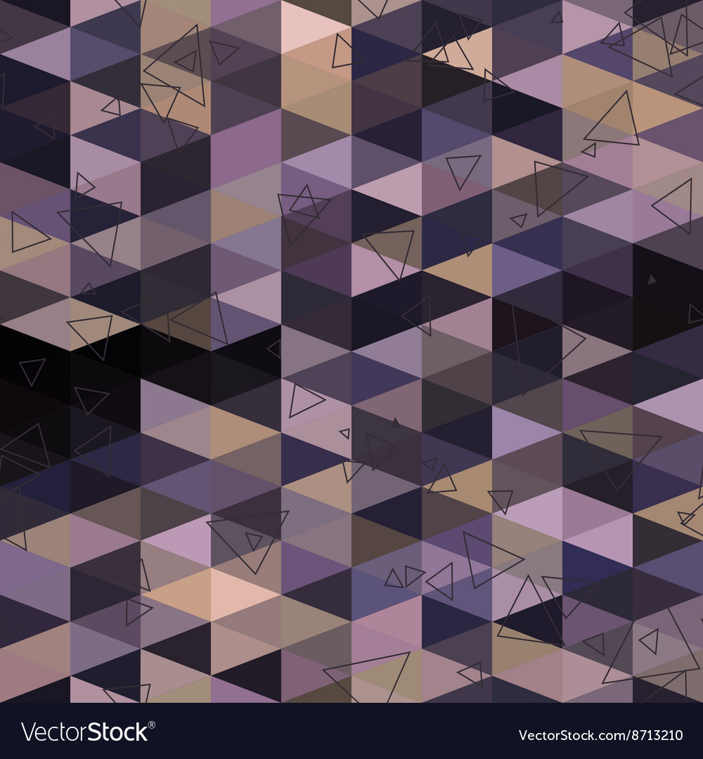 Geometric triangle abstract background vector