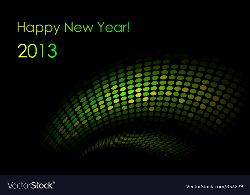 Green snake background vector