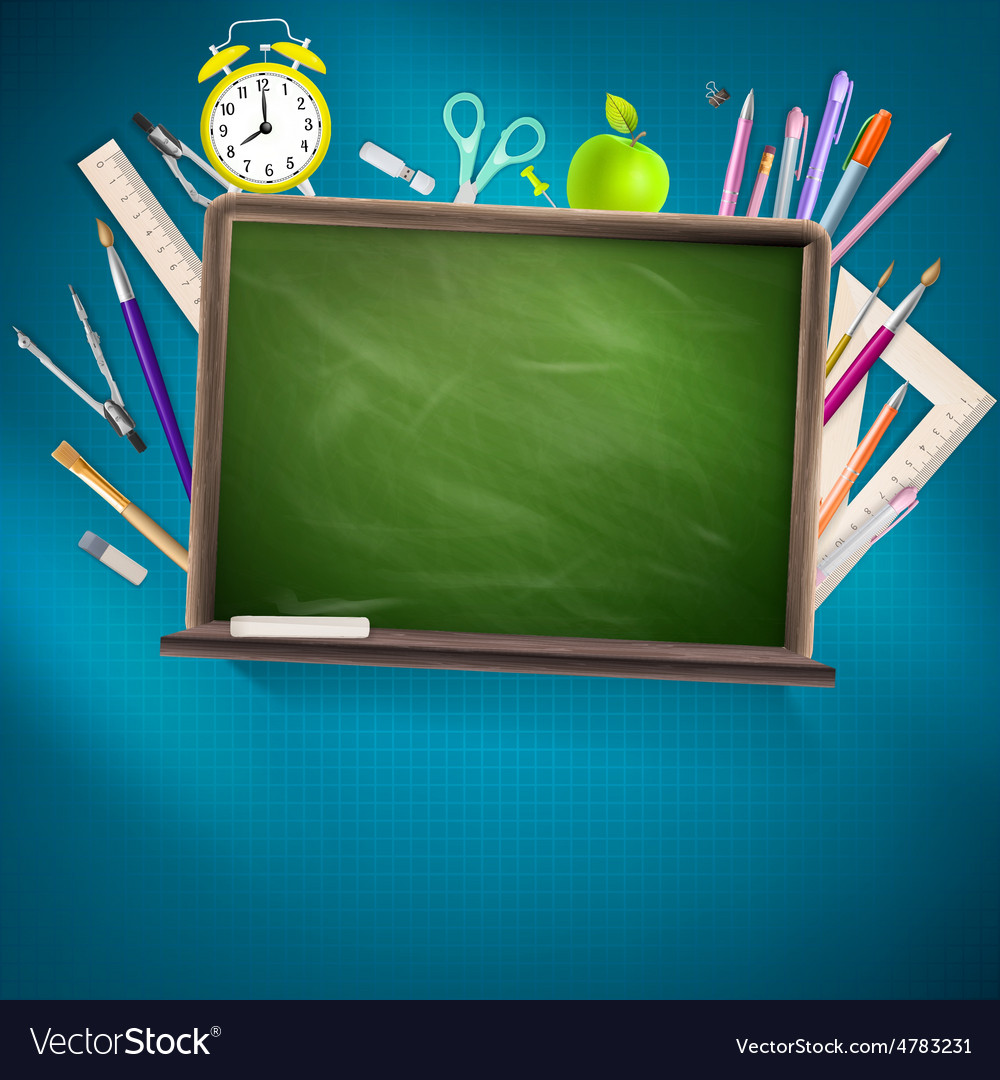 Modern school background eps 10 vector