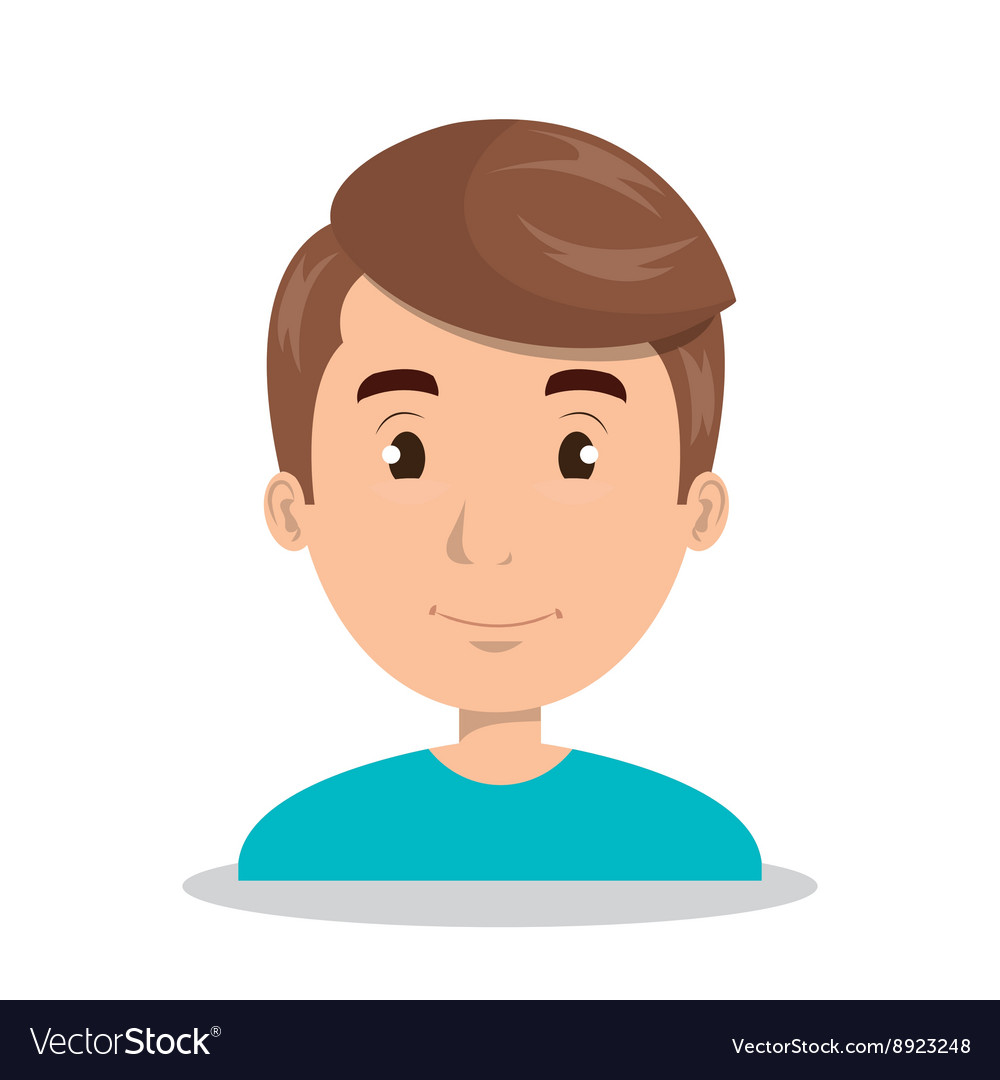 Young person design vector