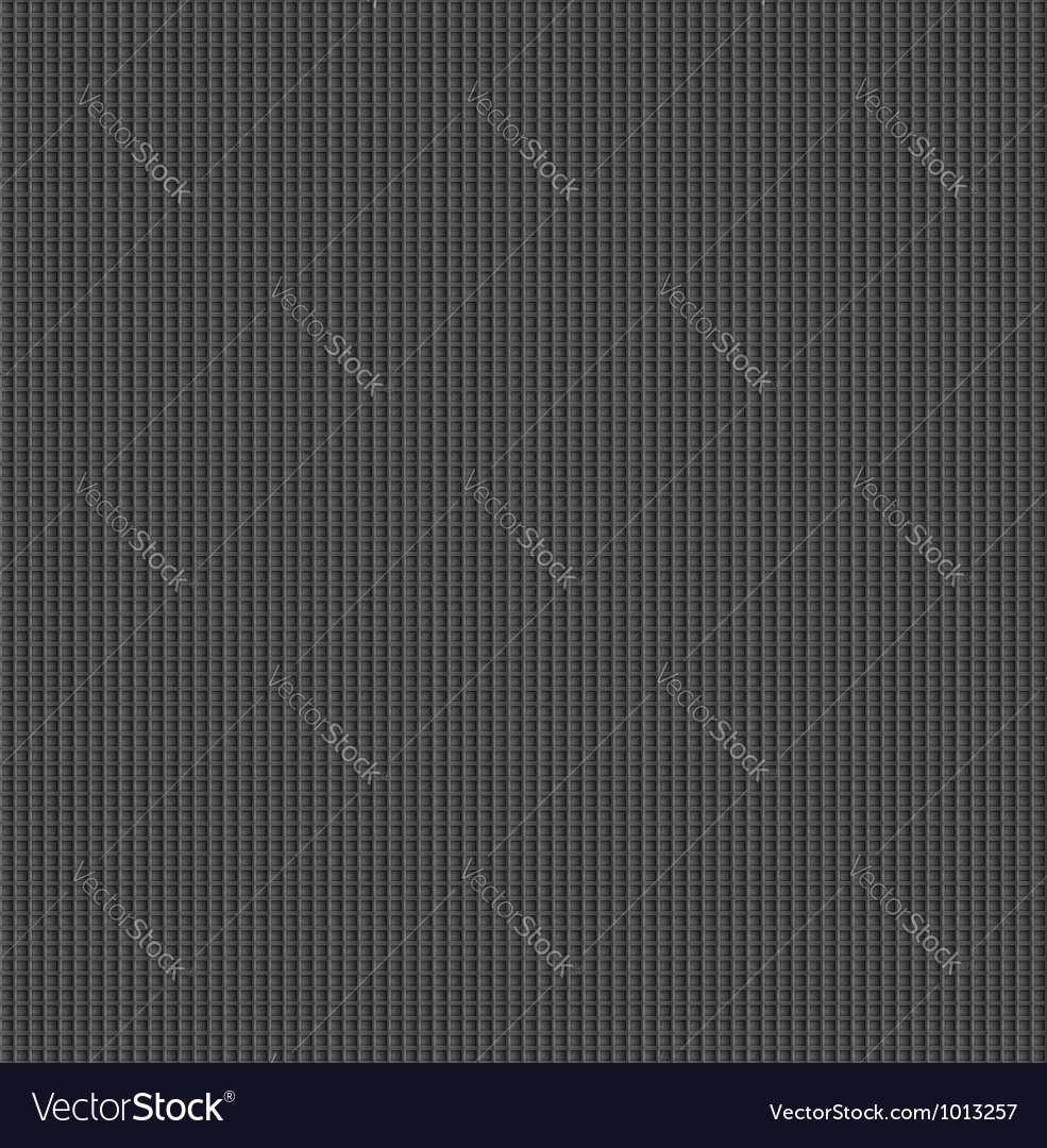 Metal surface with dark gray texture vector