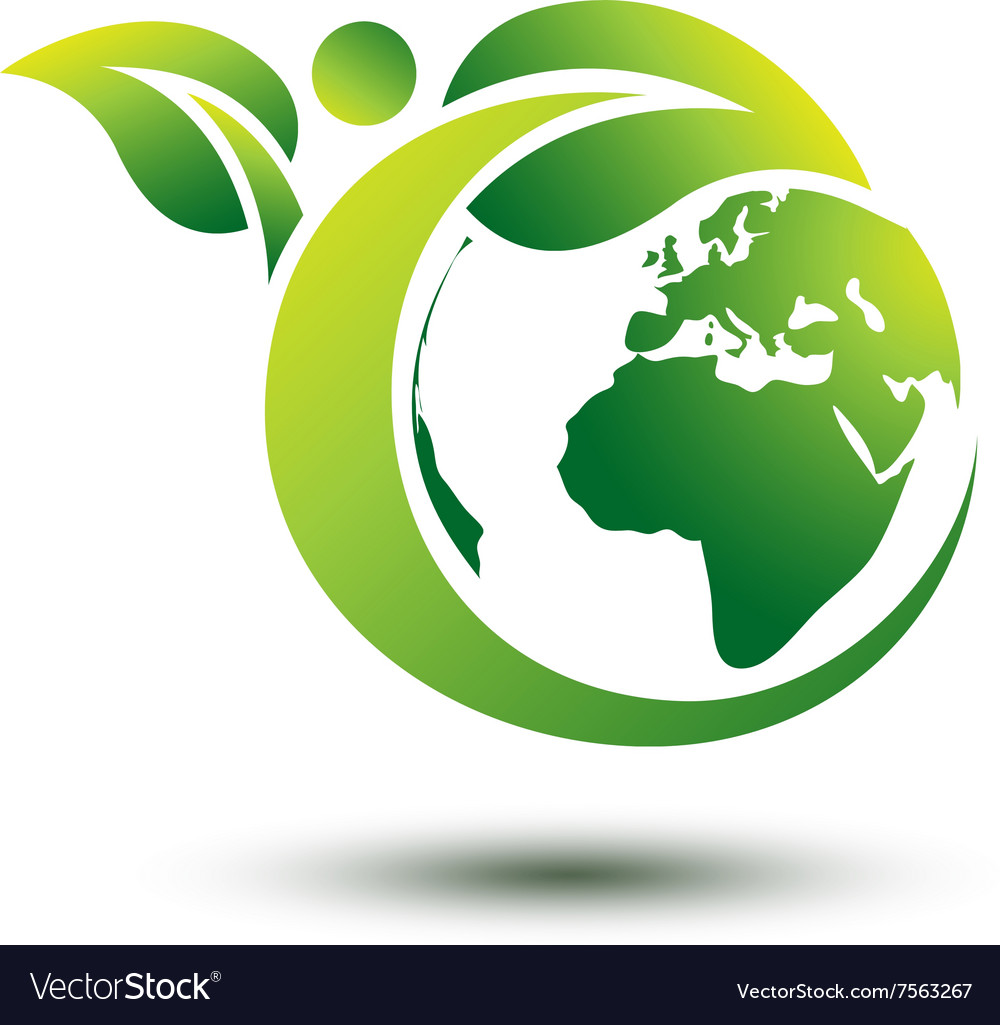 Green earth 2 vector
