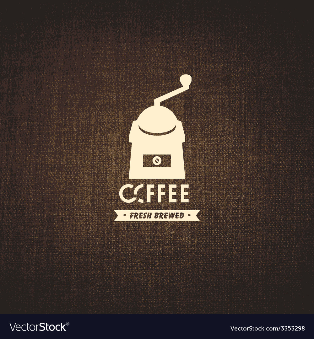 Coffee brewed vector